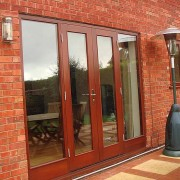 wooden timber framed french doors worcestershire