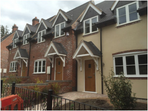 Flush casement windows in Hampton in Arden Rural Timber Window