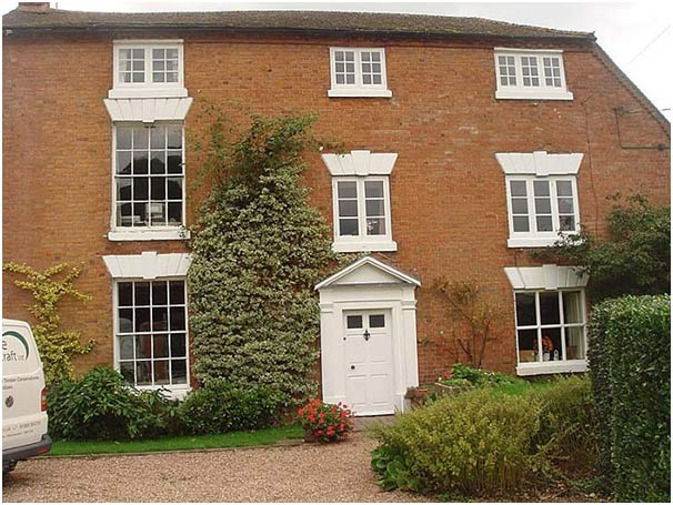 Sash Windows for Listed Buildings in Cheltenham from Rural Timber Window